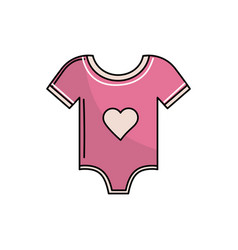 baby girl clothes that used to sleep vector image vector image