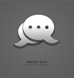 Blog icon in trendy 3d style vector