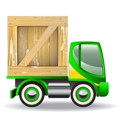 delivery truck icons vector image vector image