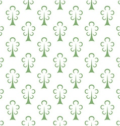 Green trees seamless pattern vector image vector image