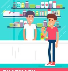 Pharmacy boys vector