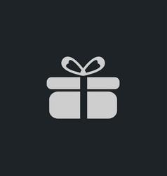present icon simple vector image vector image