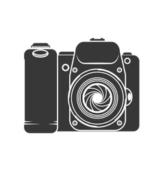 Camera focus gadget technology icon vector