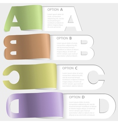 A-b-c-d paper cutoff options vector