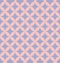 Abstract retro geometric pattern vector