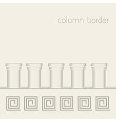 Column border vector