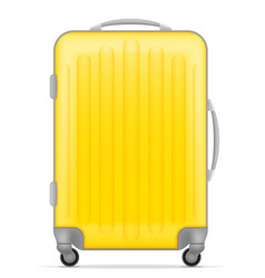 plastic travel bag vector image vector image