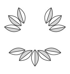 Simple leaves vector
