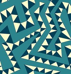 vintage curved stripes seamless pattern vector image