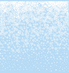 Christmas snow background winter holiday seamless vector