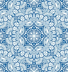 Floral kaleidoscope background vector