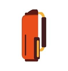 Golf bag icon vector