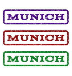 Munich watermark stamp vector
