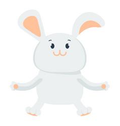 Small happy bunny vector