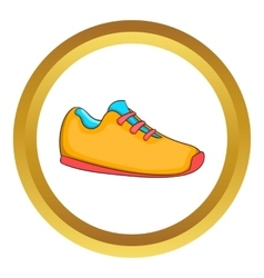 Sneakers icon vector