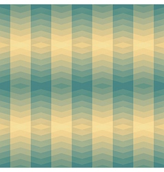 green triangles striped pattern vector image