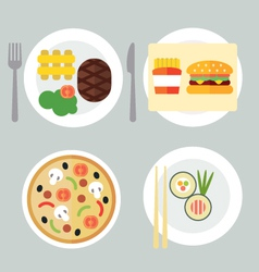 Takeaway set i vector