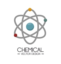 chemical industry design vector image
