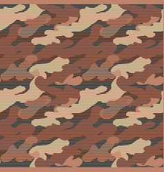 Military seamless pattern camouflage background vector