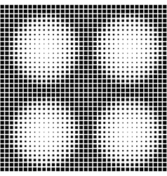 Halftone seamless pattern background vector