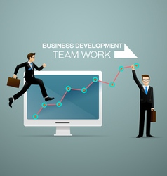Business development vector