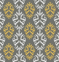 Seamless ornament pattern tile vector