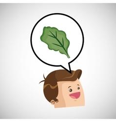 Healthy food design organic food natural product vector