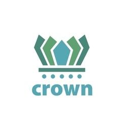 Logo crown vector