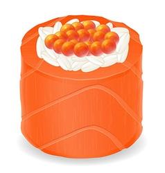 sushi rolls 05 vector image