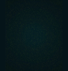 abstract background with binary code information vector image vector image