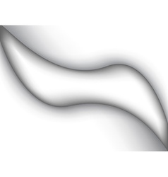 Abstract white liquid vector