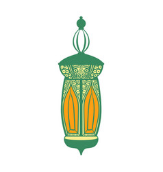 Arabic lamp colorful i vector