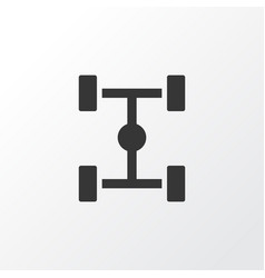 Chassis icon symbol premium quality isolated vector
