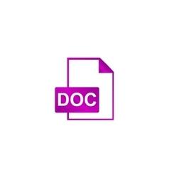 File document icon vector