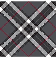 Gray fabric diagonal check seamless texture vector