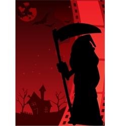 Horror poster vector
