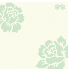vector rose background2 vector image vector image