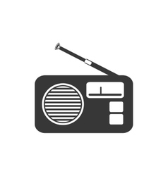 Radio music sound melody icon graphic vector