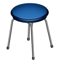 A round chair vector