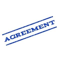 Agreement watermark stamp vector