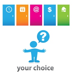 Your choice vector