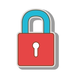 lock security closed vector image
