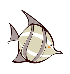 A tropical fisha tropical fish vector