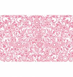 Filigree background vector