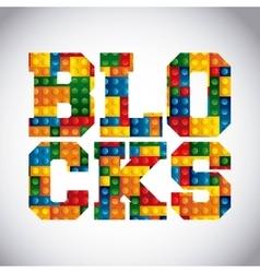 Blocks to build design vector