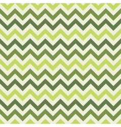 Green chevron pattern vector image