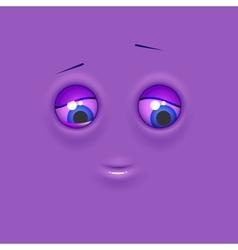 Happy emoticon emoji vector image