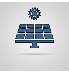 Solar energy vector image