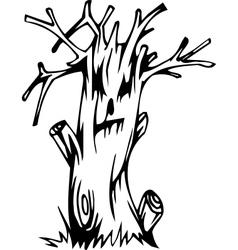 Tree - halloween set - vector