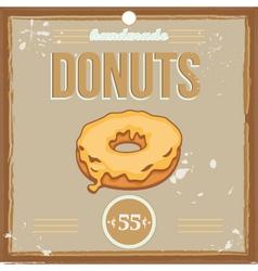 donutposter vector image
